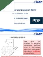 ISR Reformas 2015