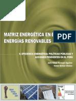 matriz energetica en el peru