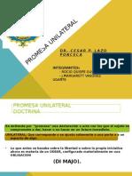 Derecho Civil Contratos-Promesa unilateral