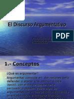 el-discurso-argumentativo-1222817560728109-8-100323230608-phpapp01.ppt