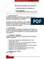 Proyecto de Una Casa de Adobe-Albañileria