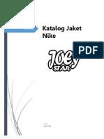 Katalog Jaket Nike