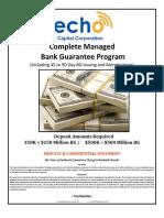 ECC Bank Guarantee Project Overview