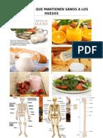 Alimentos Que Mantienen Sanos a Los Huesos