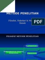 Metodologi Penelitian (Filsafat, Hakikat, dan Metode Ilmiah).ppt