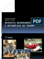 Resposta Neuroendc3b3crina e Metabc3b3lica Ao Trauma