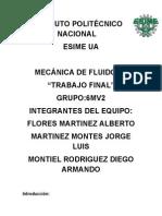 Montiel, Martinez,Flores, 6mv2 Trabajo Tercer Parcial