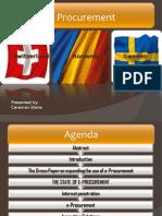 Presentation E-Procurement