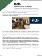Apartamentos Pequenos_ Manual Do Usuário - Efetividade