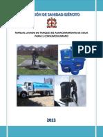 LAVADO y desinfeccion de tanques de almacenamiento de agua potable