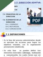 Adm1-e07_la Dirección Administrativa
