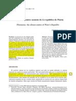 Pleonexia en Platon
