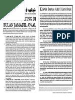 MIMBAR 22 - Jamadil Awal 1436H/Mac 2015M