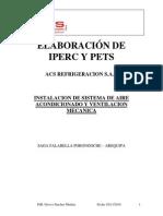 Evaluacion de Iperc y Pets