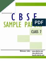 Cbse Class 7 Sample Papers Syllabus 1394010477