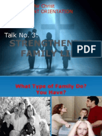 Couples for Christ-CO Talk No 3-Strengthening Family Life