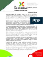 10-06-2011. En Xalapa todos los niños nacidos en hospitales tendrán certeza jurídica, social  y acta de nacimiento. C304