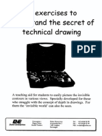 Technical Drawing Exercises_solutions