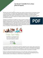 Asesor.es Consultoria Fiscal Y Contable En La Zona Nordoeste De la capital de Espana
