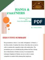 Week 5 - Singhania and Partners Case by Gaurav Rathi