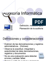 Auditoria _informatica General