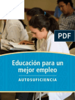 Educación para un mejor empleoción