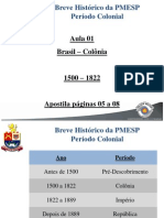 Breve Histórico Da PMESP Aula 1 - ESSd