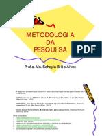 METODOLOGIA de Pesquisa Juridica