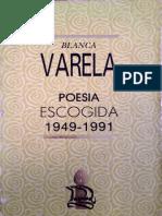 Extrato de Poesía Escogida (1949-1991) (Blanca Varela)