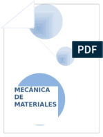 Mecánica de Materiales I (apuntes)