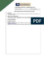 Sistemas de Bases de Datos - Laboratorio Nº03