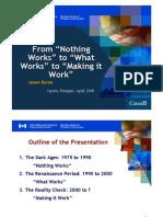 Microsoft Power Point - Oporto Treatment Workshop 2008 Notes