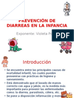 Prevención de Diarreas en La Infancia
