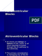 Atrio-Ventricular Blocks Lecture Powerpoint
