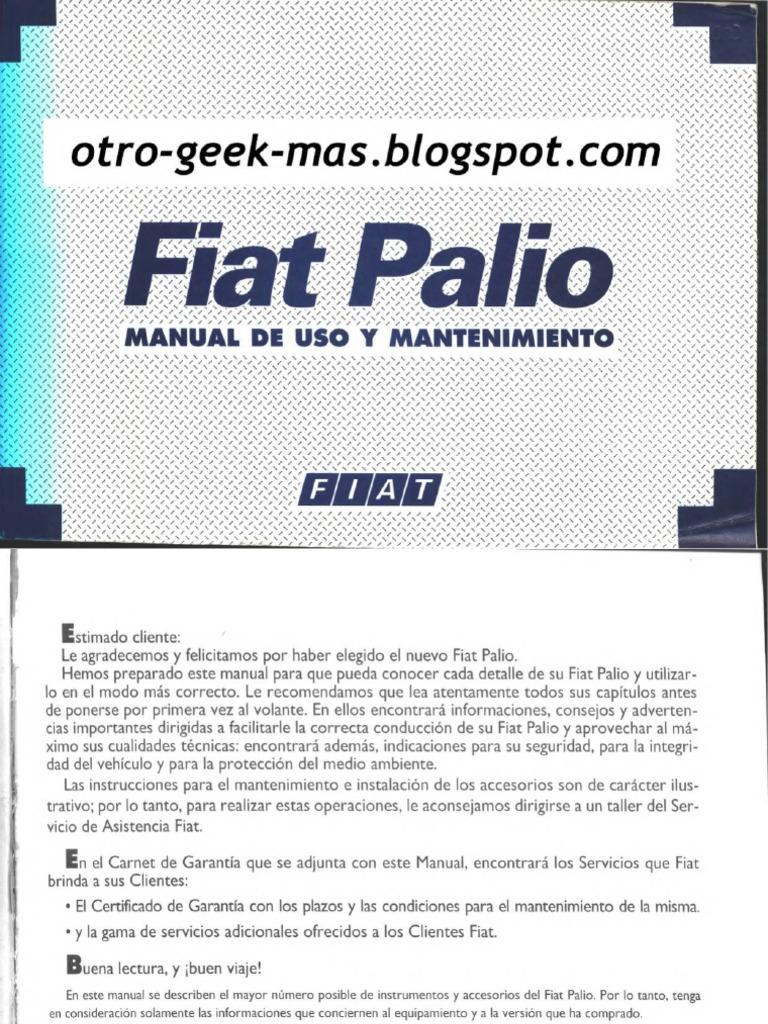 manual de usuario fiat palio g1 rh scribd com manual de usuario fiat palio attractive 1.4 manual de usuario fiat palio adventure 2010