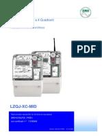 Manual de medidores EMH LZQJ-XC