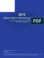 Benni Mini Workshop Manual 2013 Cap 1