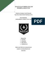 Makalah Metode Pembelajaran PAI ~Penggunaan Media dalam Pembelajaran PAI ~Norhidayati