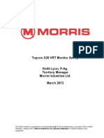 Topcon X20 Monitor Instructions 2013