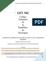00 Ley 562 Codigo Tributario (Con Reformas de Ley 822 y Anteriores) Al 30-Junio-2013