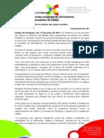 17-06-2011 Inicia Elizabeth Morales programa de reforestación  para preservar manantiales de Xalapa.  C321