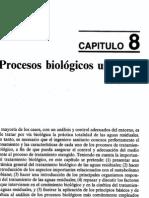 Tratamiento de aguas residuales con procesos biologicos