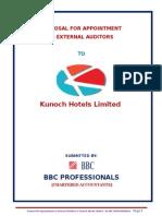 Kunoch Hotels Audit Proposal