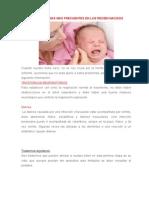 Las Patologías Más Frecuentes en Los Recién Nacidos