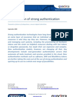 The evolution of strong authentication