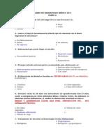 99148748 Examen de Residentado Medico 2011