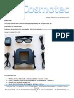 Cotización sistema de proyección smart crystal pro 2015