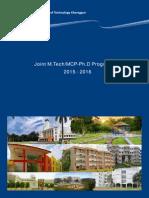 IIT KGP PG Brochure 2015