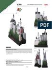 super castillo de papel