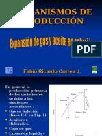 Mecanismo Primario (Gas en Solucion)